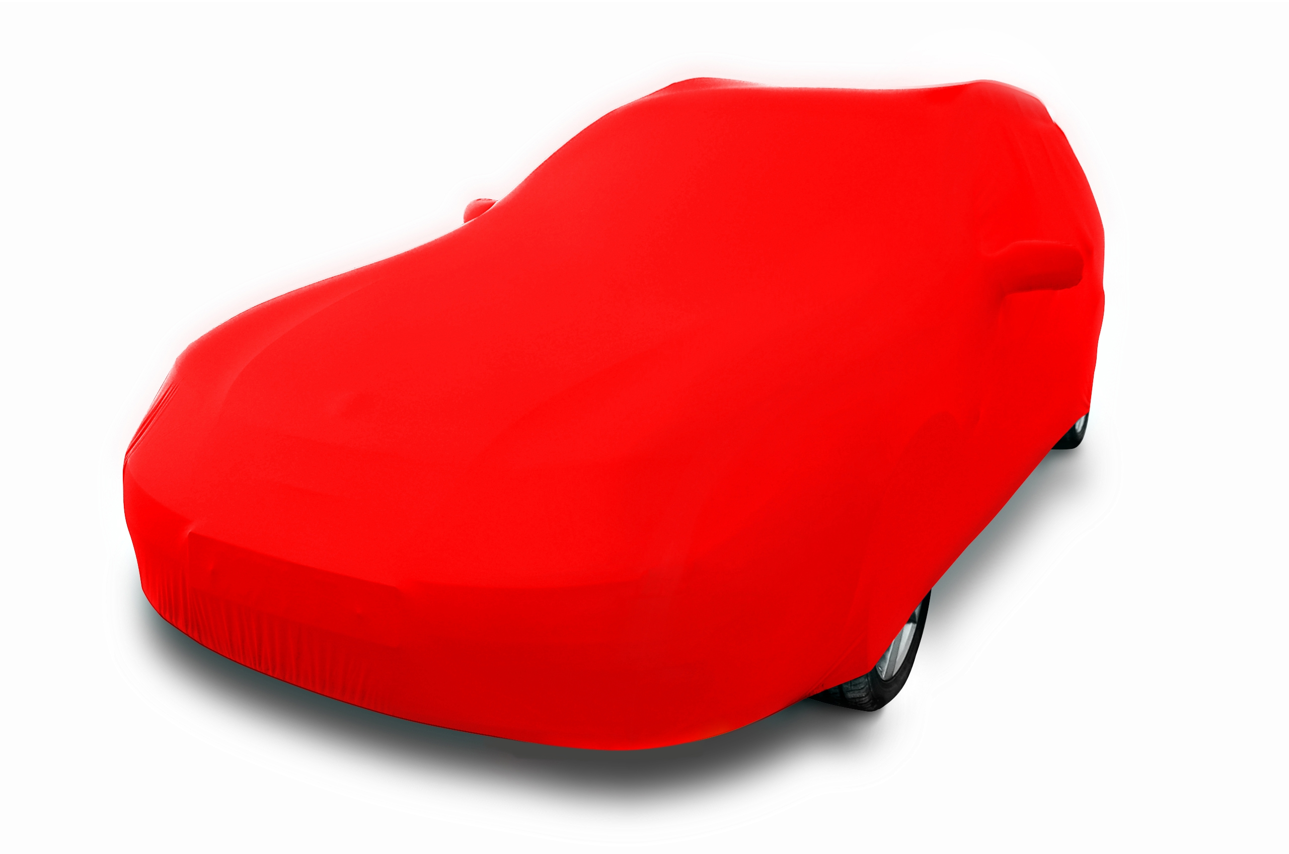housse voiture rouge