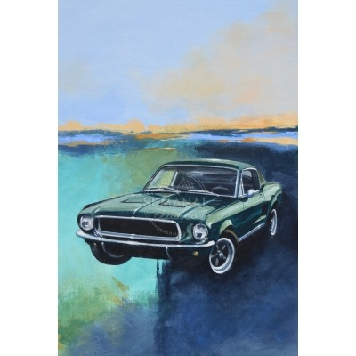 peinture auto Ford Mustang